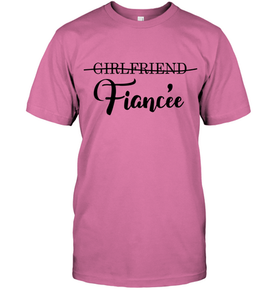 Girlfriend Fiancee T Shirt Gift For Her