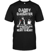 Daddy Daughter Always Heart To Heart T Shirt Gift For Dad - Father & Daughter Shirt