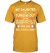 My Daughter Is Turning Out To Be Exactly Like Me T Shirt Gift For Mom