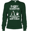 Daddy Daughter Always Heart To Heart T Shirt Gift For Dad