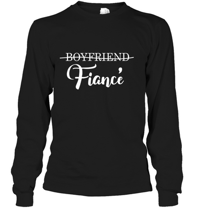 Boyfriend - fiance, gifts for couple, gift for him, gift to fiance, unisex shirt 5