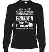 I Gave up A lot of Things When I Became A Grandpa Shirt Gifts For Grandpa