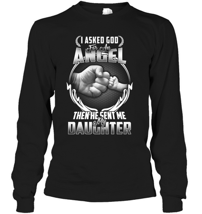 GOD SENT ME MY DAUGHTER, Gifts For Mom, Gift For Daughter, Women Shirt, Mom Shirt, Special Gift For Her, Unisex Shirt, Plus Size Shirt