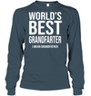 World's Best Grandfarter I Mean Grandfather Shirt Gift For Grandpa
