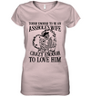 Tough Enough To Be An Wife T Shirt Gift For Wife