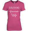 Fiancee Promoted To Wife T Shirt Gift For Fiancee