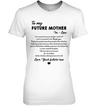 Famh to my future mother in law, mom shirt, gifts for mom, mother's gift , mother's day gift