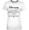 Famh to my future mother in law, mom shirt, gifts for mom, mother's gift