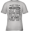 I have a crazy grandpa, Kid shirt, Gifts For kid, Plus Size Shirt