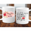 G4 Personalized I'm Glad I Tumbled Out Of Yours Mom Mug Gift For Mom