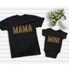 Mama And Mini Leopard Mom And Baby Matching Shirt Mom And Baby Gift