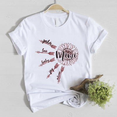 G2 Personalized Mimi Of Sunshine Shirt Gift For Grandmother