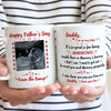 Personalized Daddy I'm On My Way Mug Gift For Dad To Be