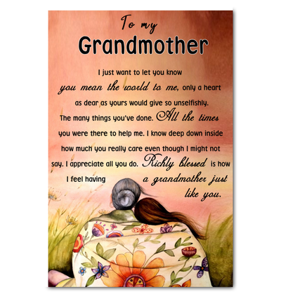 PERFECT GIFT FOR GRANDMA - FAMH