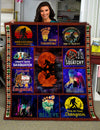 Famh - bigfoot collage 50x60 blanket bigfoot lover best gift idea