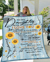 Famh - to daughter never forget that i love you 60x80 blanket gifts from mom