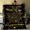 Famh - dear my future mother-in-law 60x80 blanket from daughter best gift idea