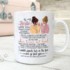 To my bestie i love you mug Bff gift