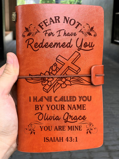 Ttbp - for i have redeemed you i have called you by your name notebook gift mine notebook gift