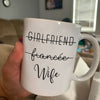 Fiancee Promoted To Wife Mug
