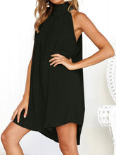 Round Neck  Shift Dress