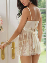 Open Shoulder  Hollow Out Nightwear Sleepwear