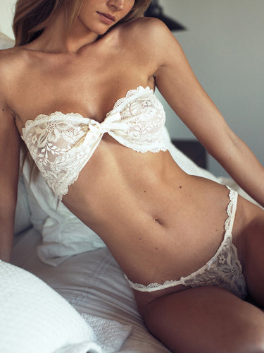 Three-Point Lace Underwear Lingerie Set