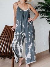 Spaghetti Strap  Backless  Printed  Sleeveless Jumpsuits