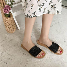 Casual Hollow Hook Flower Flat Sandals