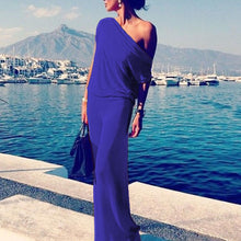 One Shoulder  Plain Maxi Dresses