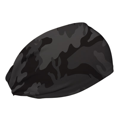Black Camo Cooling Headband