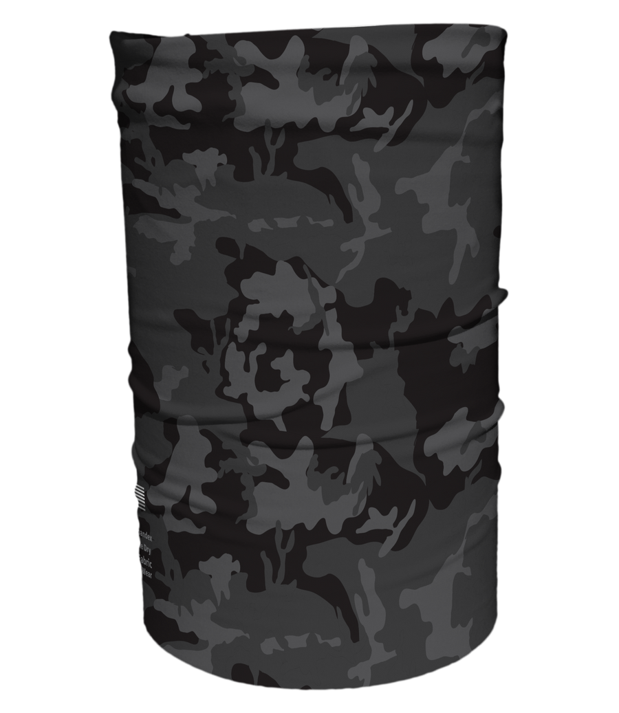 Black Camo Cooling Gaiter