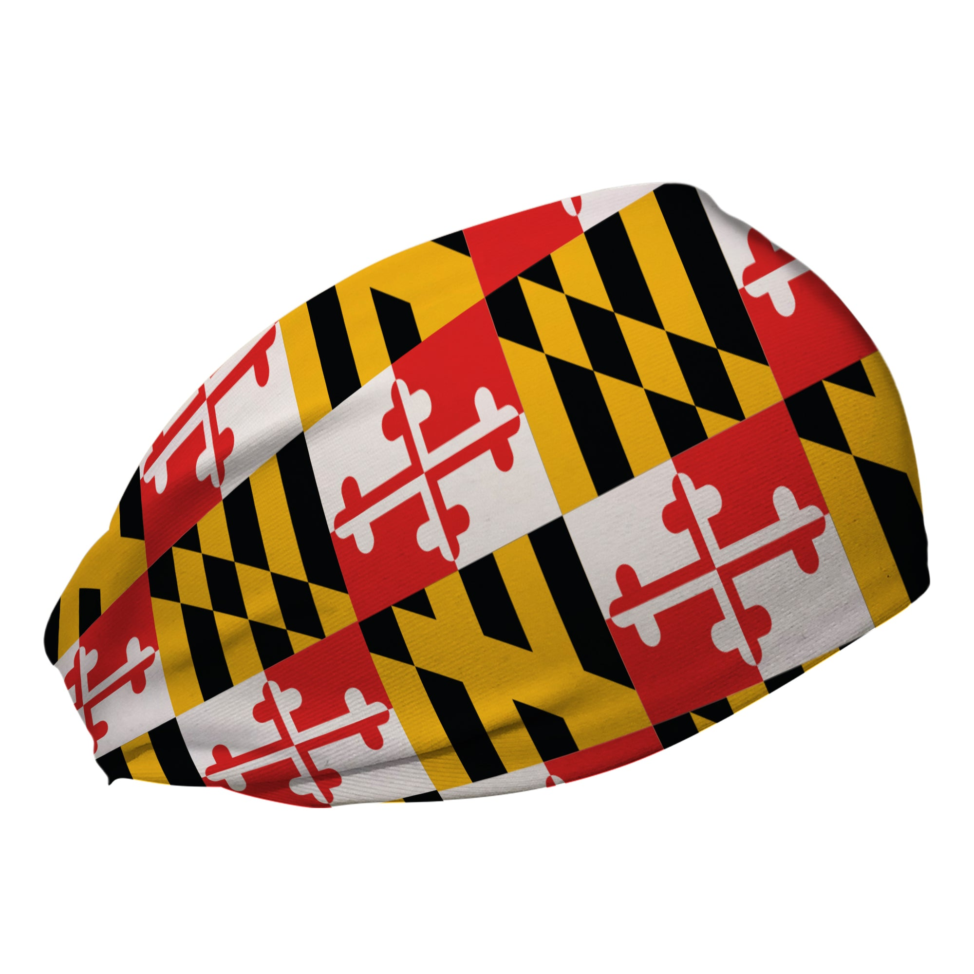 Maryland Pride Flag Stretch Coolcore Headband