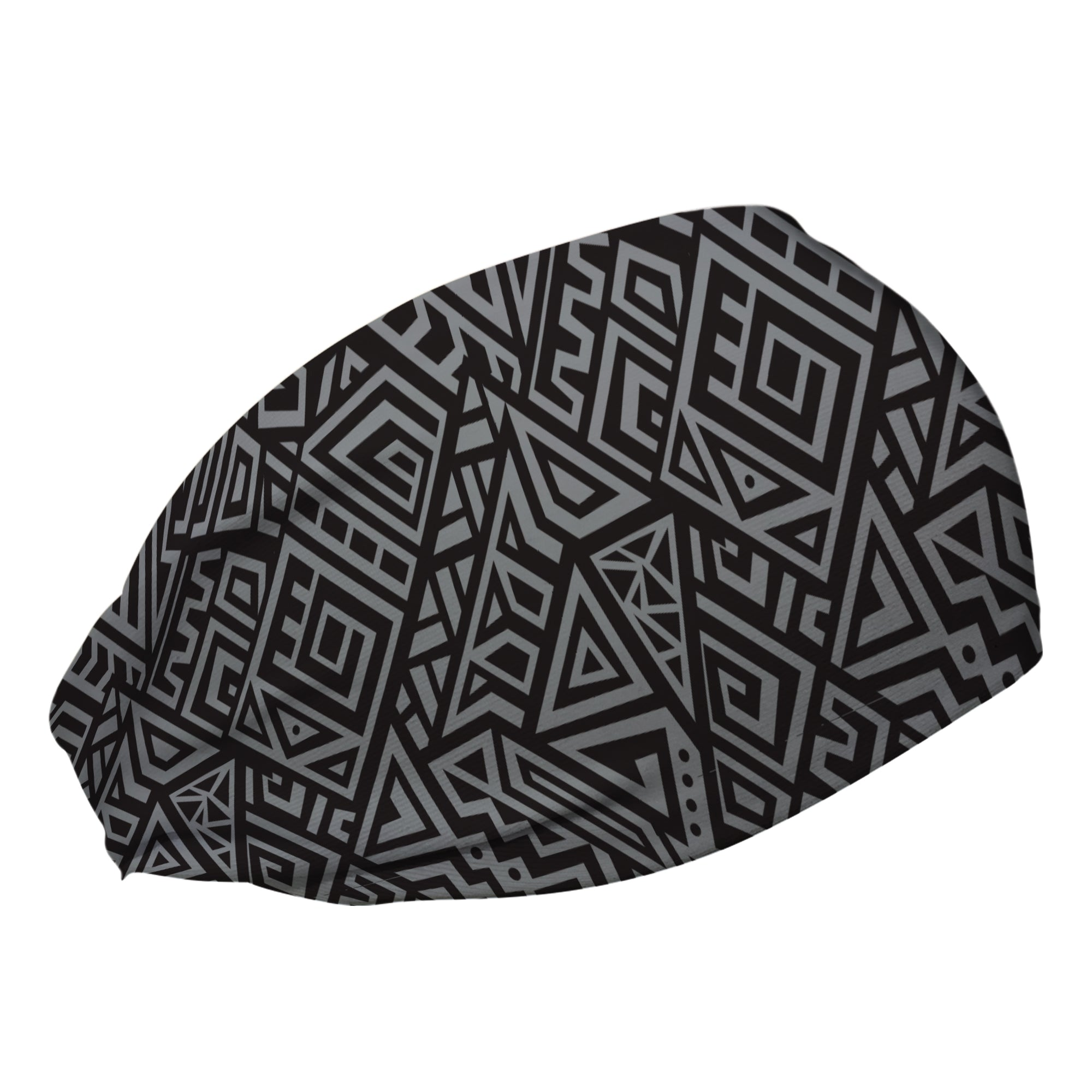 Silver Tribal Cooling Headband
