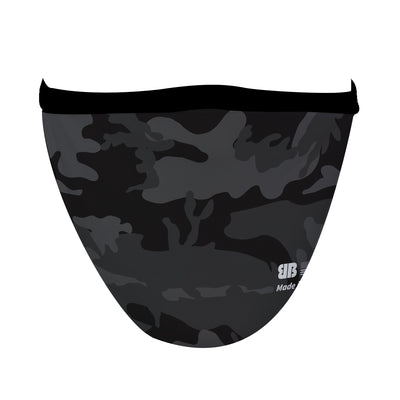 Black Camo Mask - Made in USA