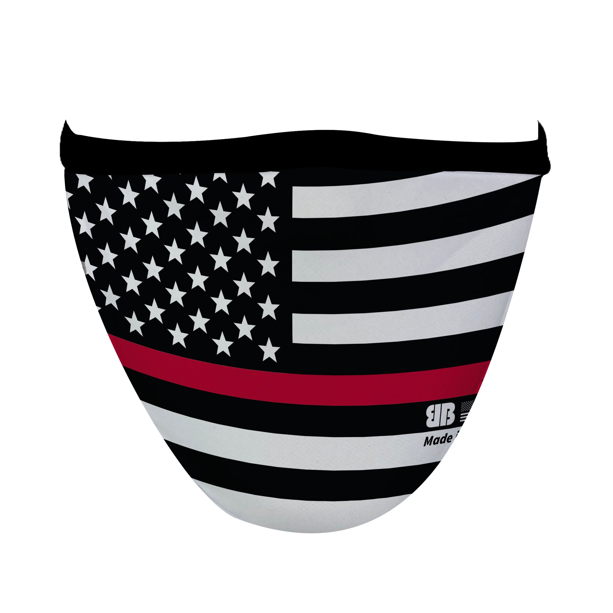 Firefighter Flag Mask - Made in USA