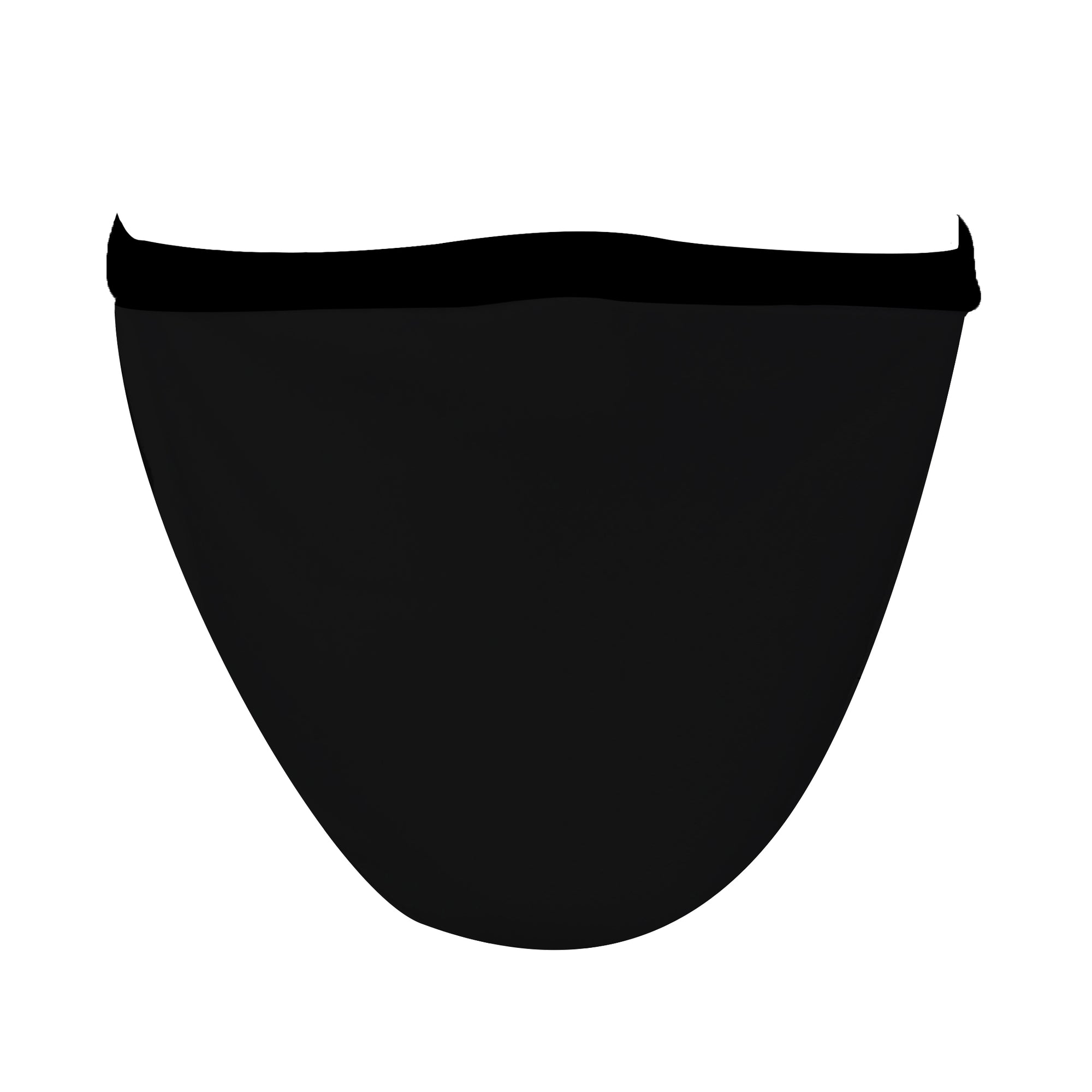 XL Solid Black Mask - Made in USA