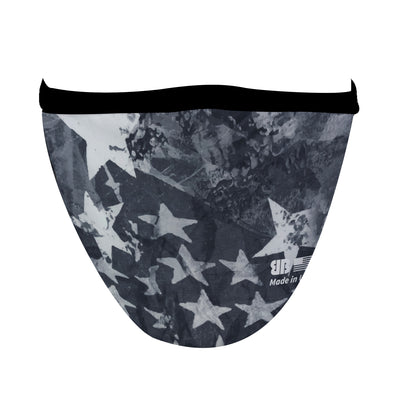 Star Spangled Gray Mask - Made in USA