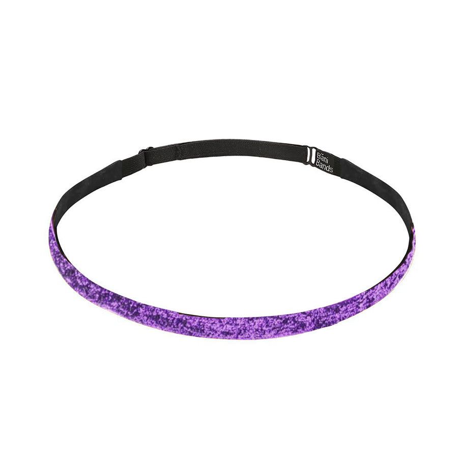 Glitter Skinny Purple Headband