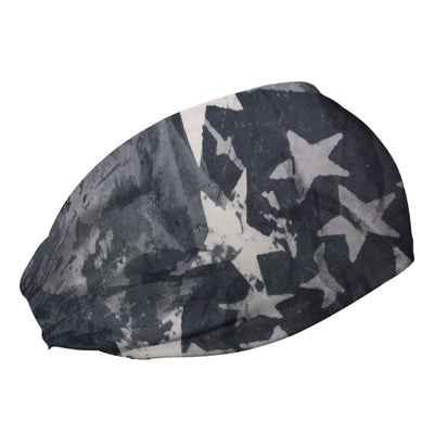 Star Spangled Gray Cooling Headband