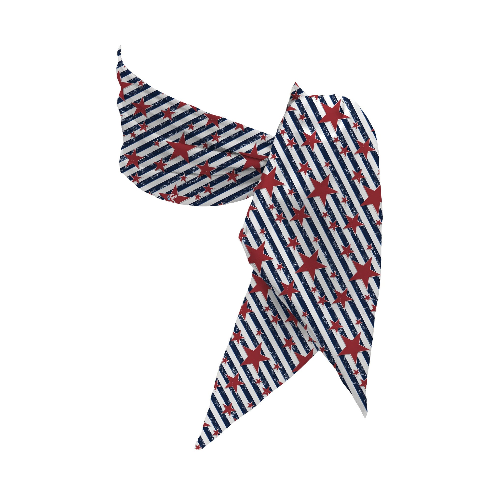 Stars & Stripes Multifunction Cooling Scarf