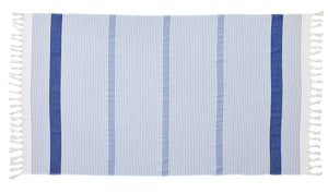Beach Towel Plein Sud Bleu Royal 100x180cm