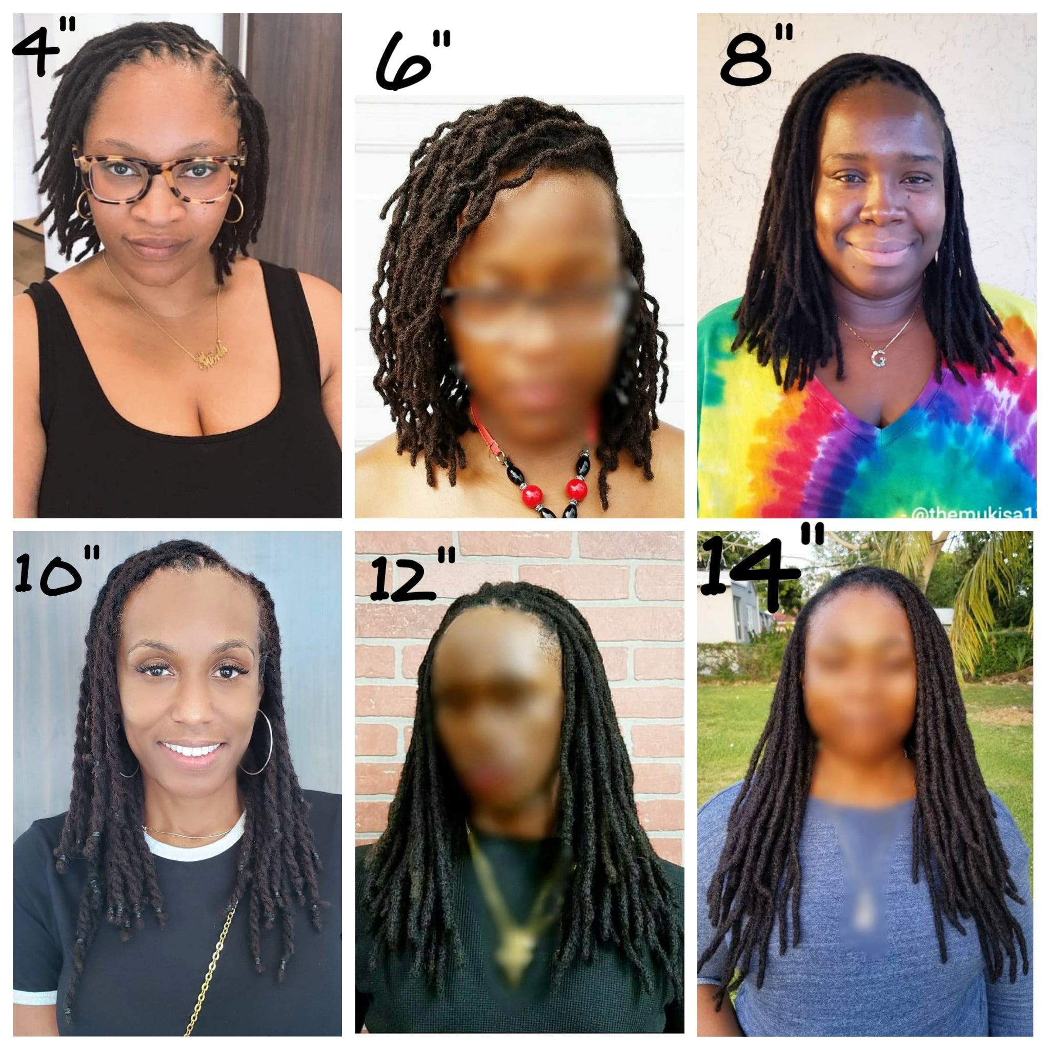 Which length should I choose for my loc extensions?