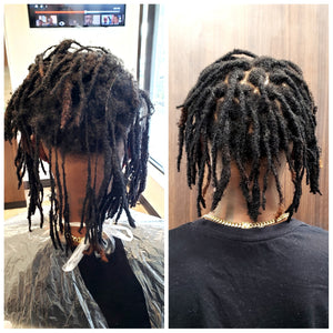 Restoration of Freeform locs