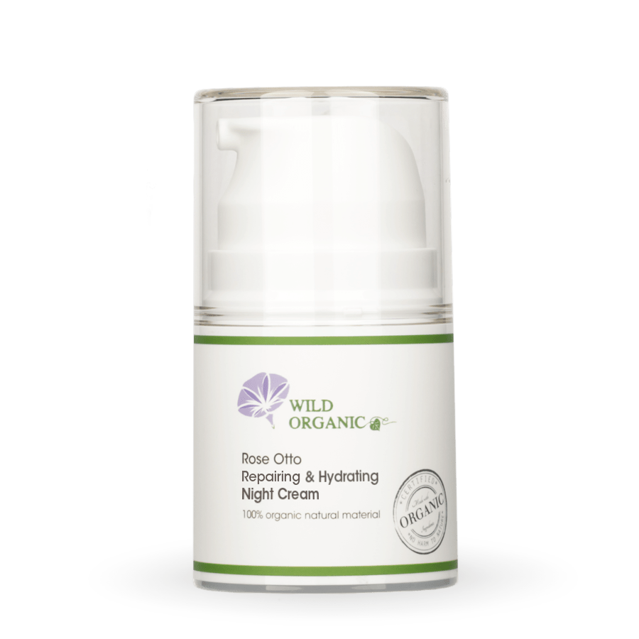 Wild Organic - Rose Otto Repairing & Hydrating Night Cream