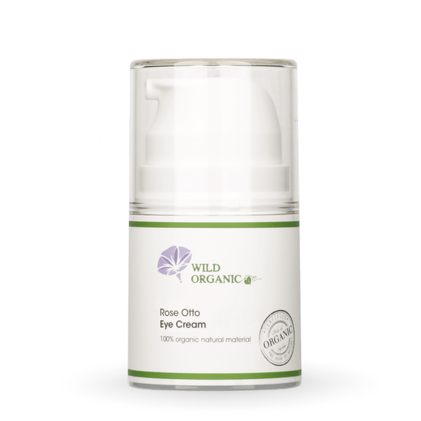 奧圖玫瑰滋潤眼霜 - Rose Otto Eye Cream - Wild Organic