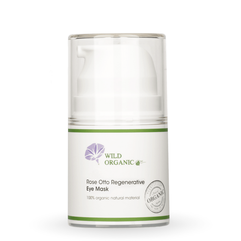 奧圖玫瑰滋潤眼膜 - Rose Otto Regenerative Eye Mask - Wild Organic