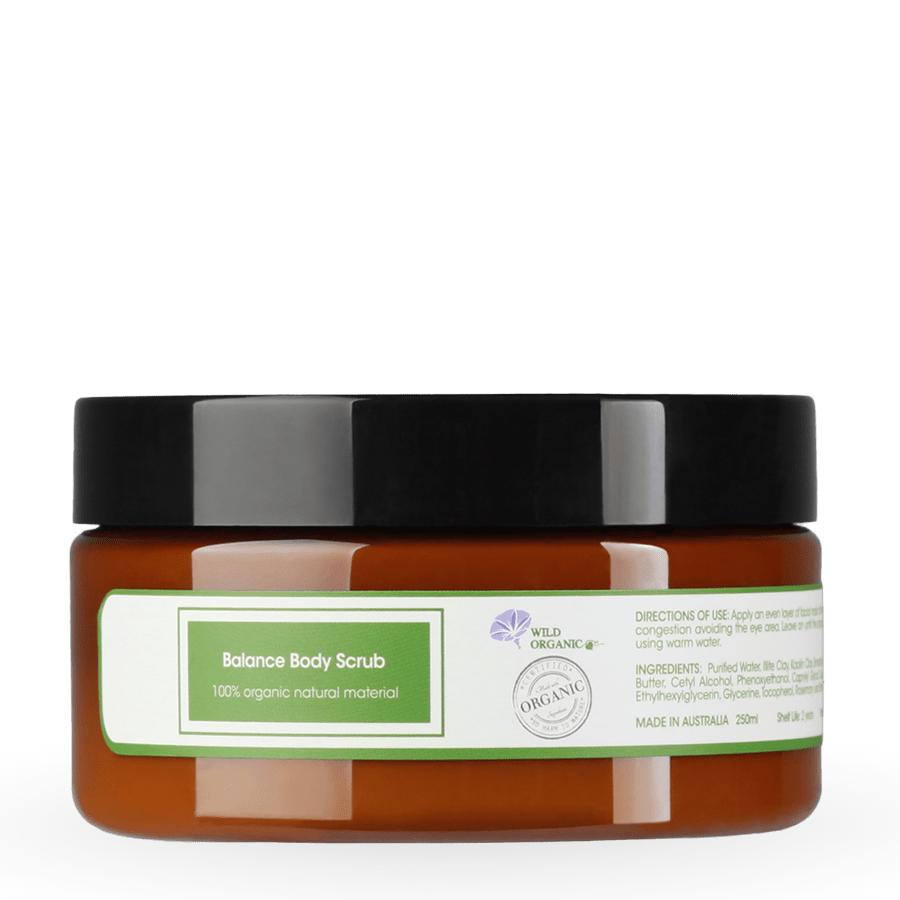 Botanical Balance Body Scrub,有機草本植物磨砂