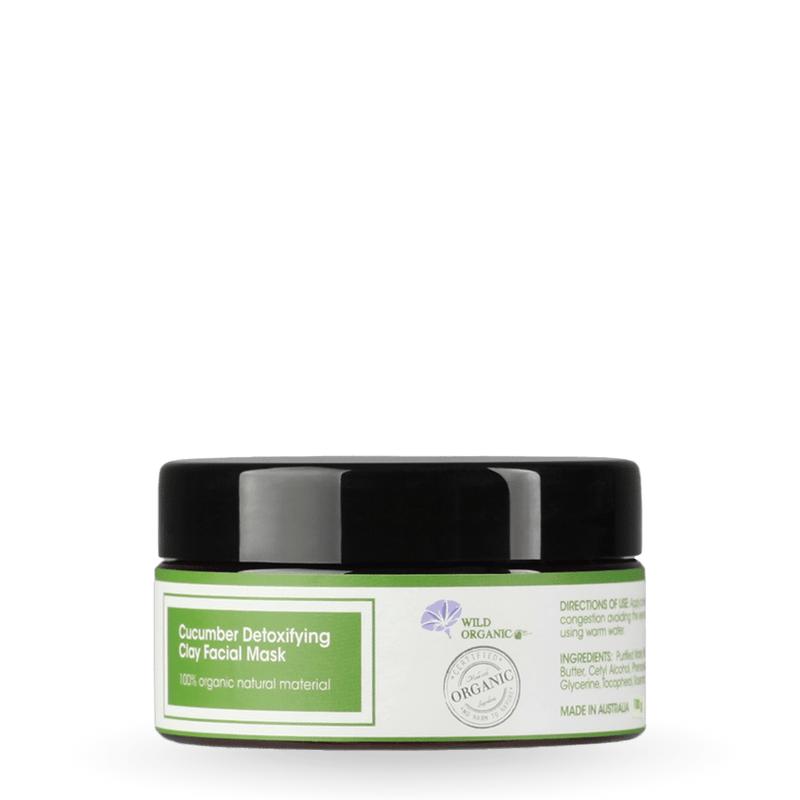Wild Organic - Cucumber Detoxifying Clay Facial Mask