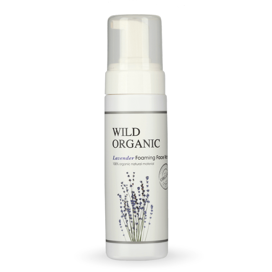 Organic Lavender Foaming Face Wash 有機薰衣草潔面泡泡